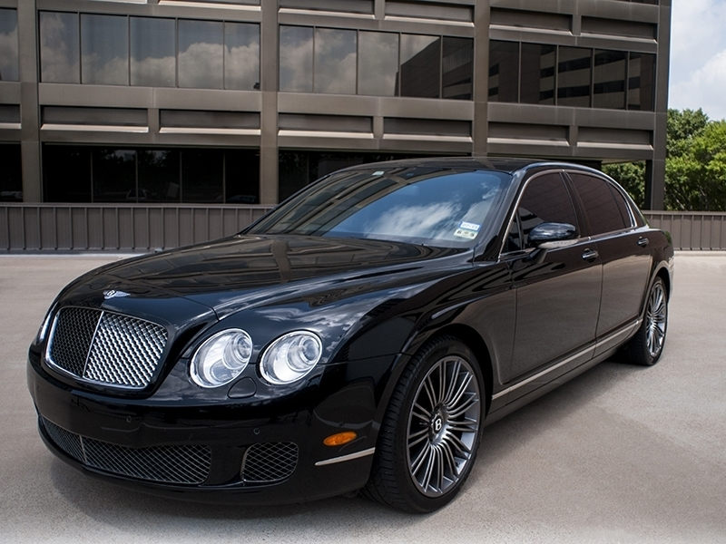 Bentley Continental Flying Spur - Speed