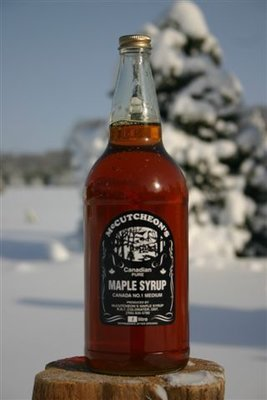 1L Ontario Grade A Amber Maple Syrup Glass Bottle - Available for pickup order only​ - Not shipped