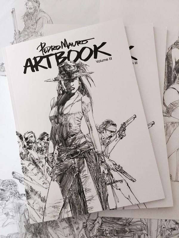 Pedro Mauro Sketchbook Vol. II