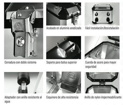JGO. DE 3 MALETAS / R1200GS LC
