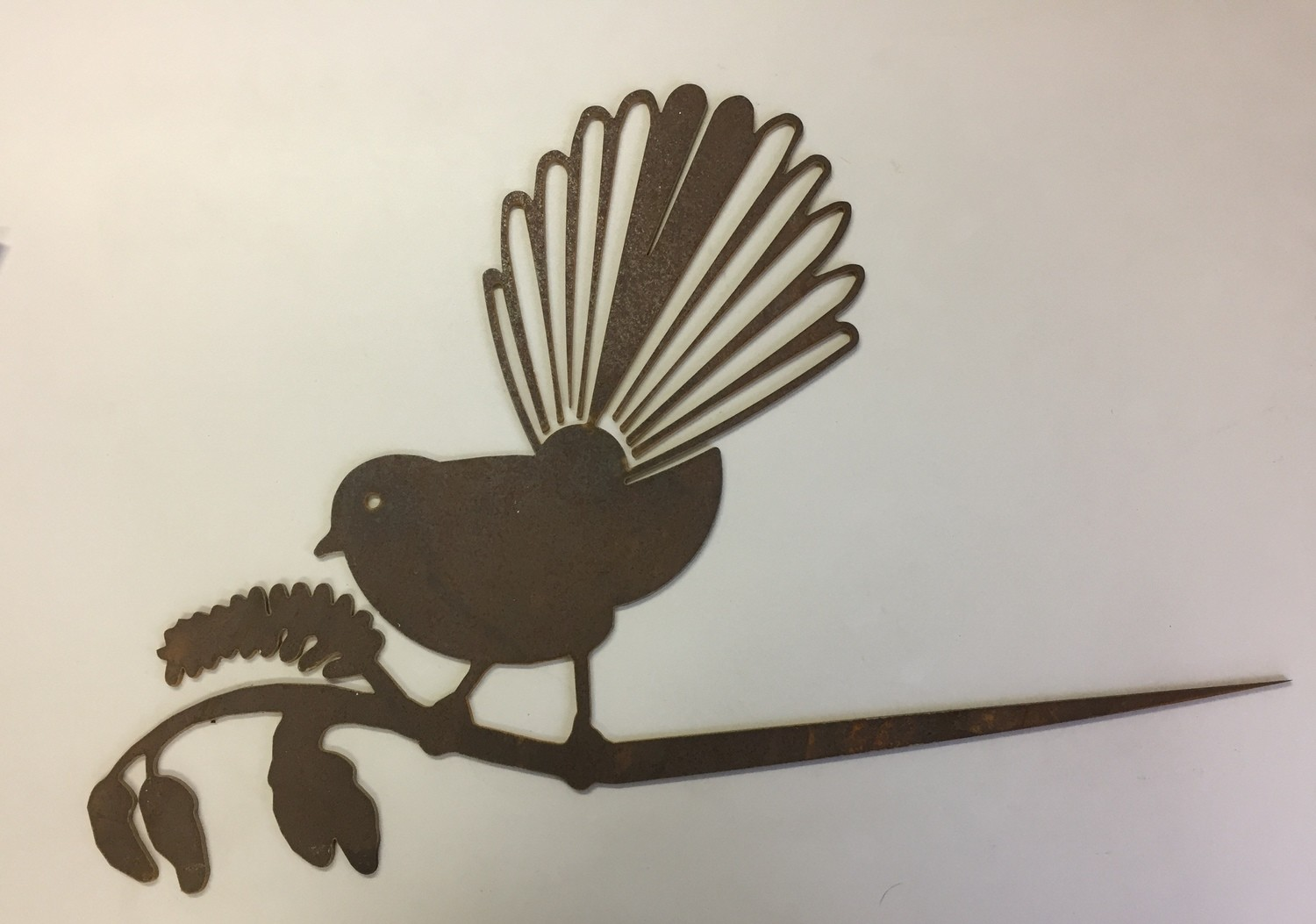 Fantail (spiked into tree or post)