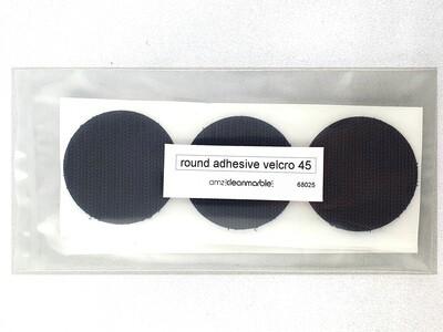 round adhesive velcro 45