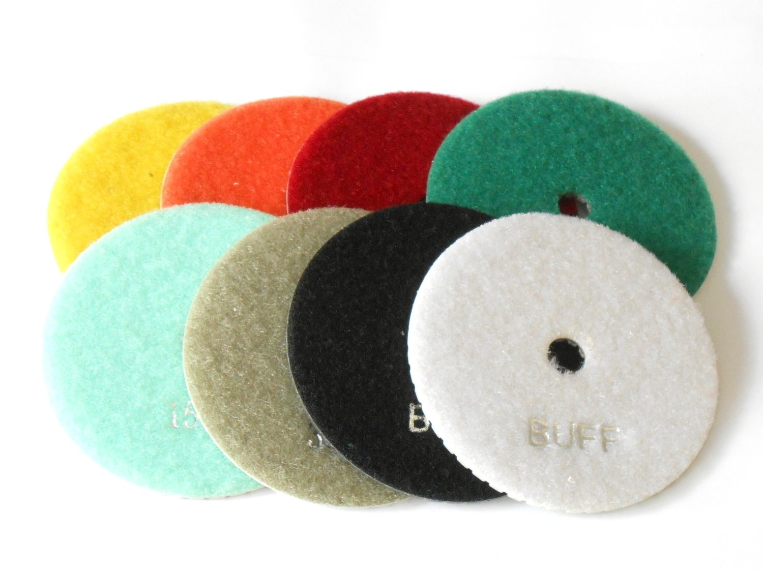 Diamond polishing discs 4""