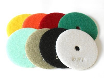Diamond polishing discs 4