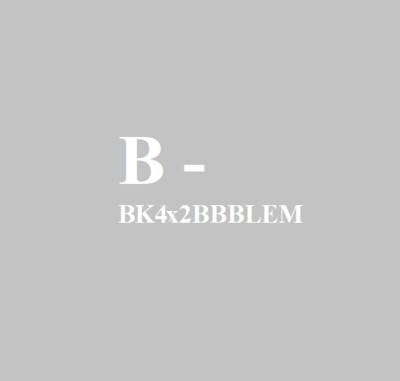 BK4X2-BB-BLEM