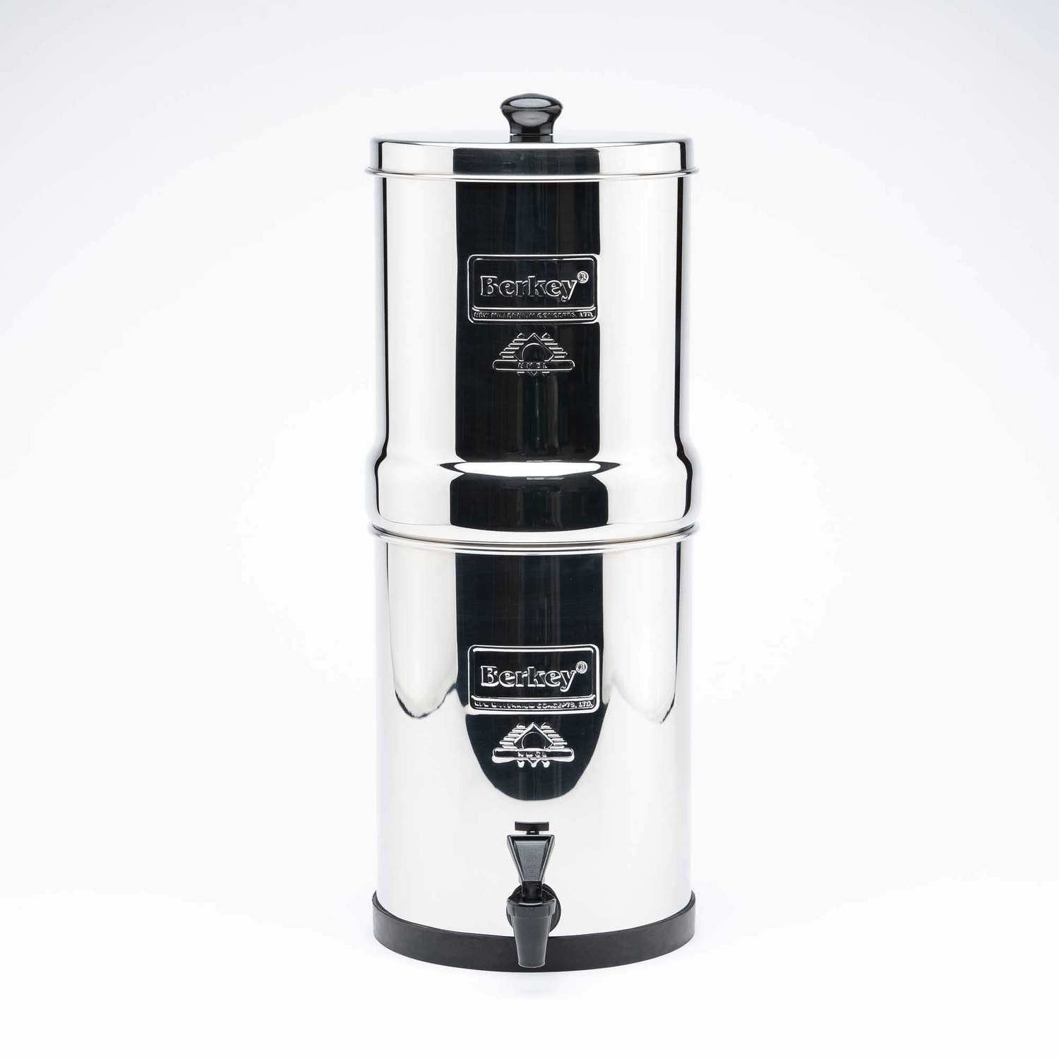 TRAVEL BERKEY  5.6 Litre with 2 Black filters