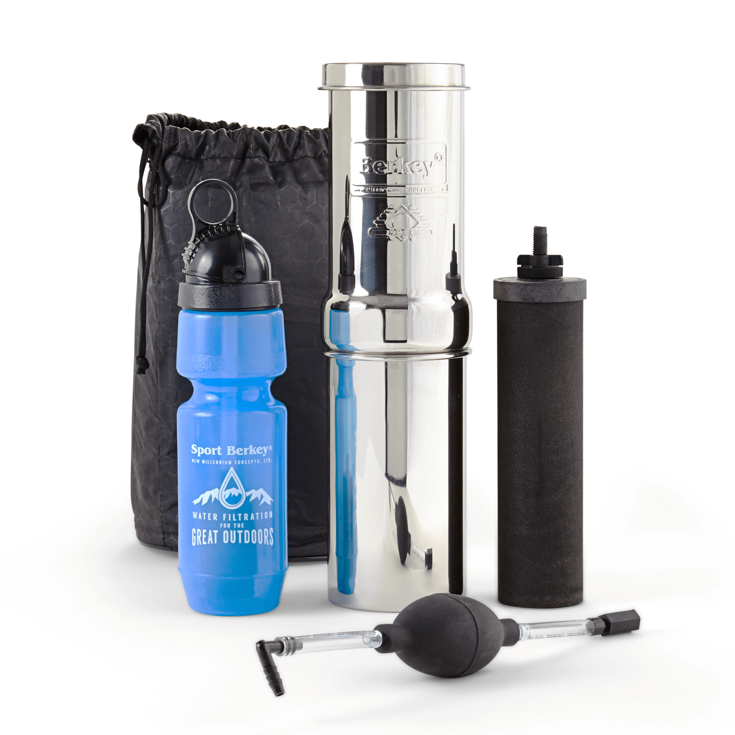 Go Berkey KIt  Trip / Hiker IMPORTANT: THESE ITEMS ARE ONLY FOR SALE TO RESERVED CUSTOMERS - IF YOU PURCHASE TODAY YOU WILL BE CHARGED REFUND BANK OR PAYPAL FEES AT YOUR COST