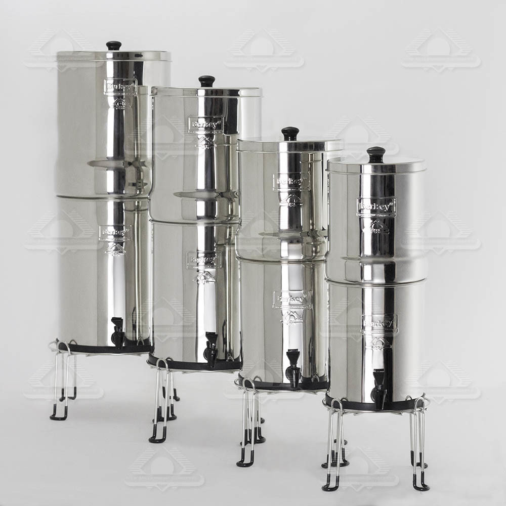 The Crown Berkey® System Stainless Steel Extra Large Stand