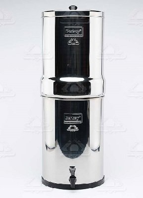 IMPERIAL BERKEY  - Imperial Berkey Water Filter 17 Litres 2 Filter  Also comes in 4 and 6 filters