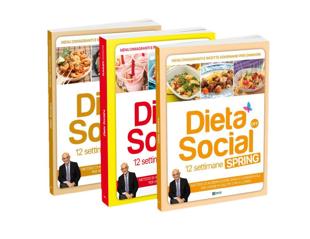 Dieta Social OFF - 3 volumi