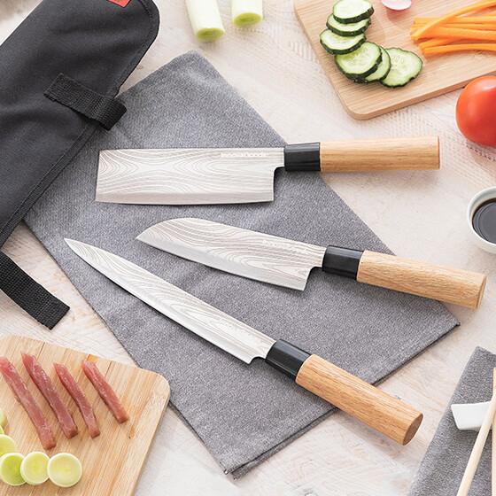 Confezione di coltelli Giapponesi professionali Nip-Knife