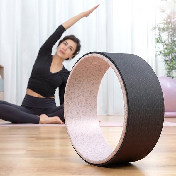 Ruota per yoga e rilassamento muscolare