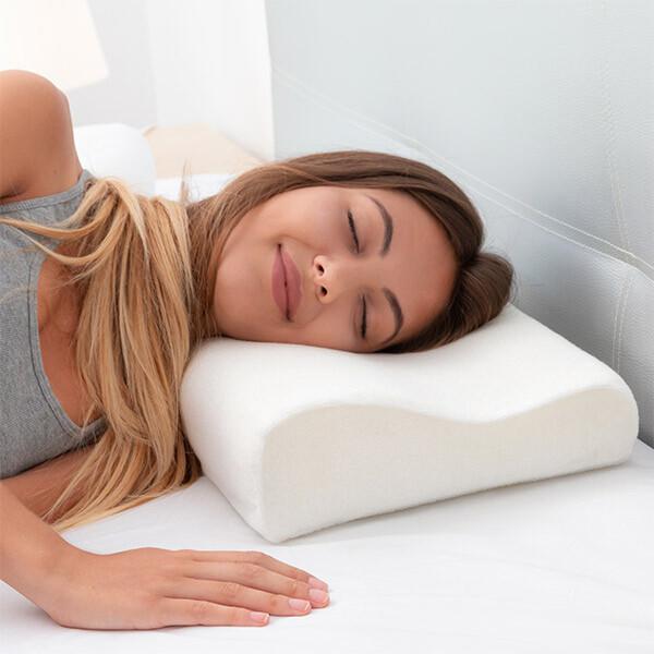 Cuscino cervicale buon riposo in memory foam