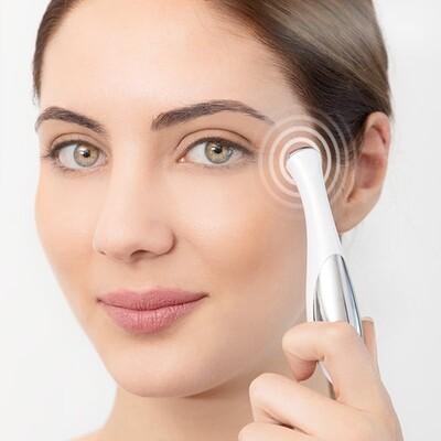 Penna a massaggio ionico cancella rughe per occhi e labbra