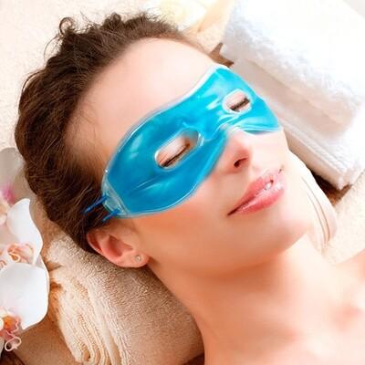 Maschera in gel contorno occhi double relax