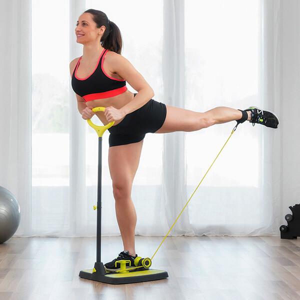 Pedana di allenamento con guida completa per esercizi