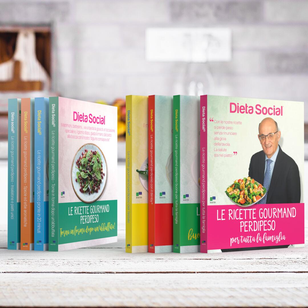 Le ricette gourmand perdipeso - 8 volumi
