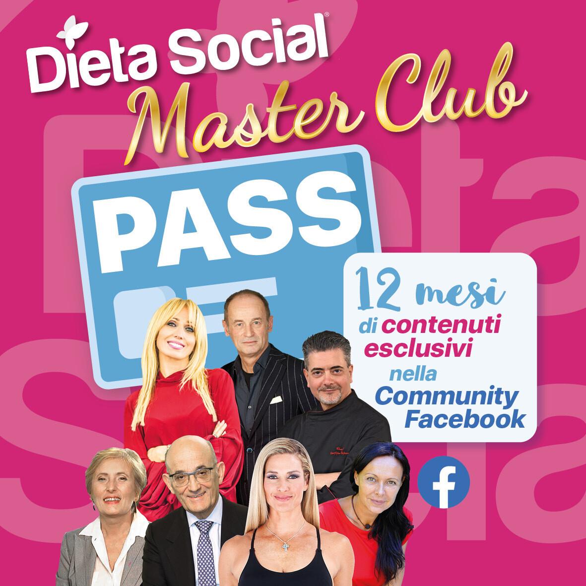 PASS 12 mesi Dieta Social Master Club