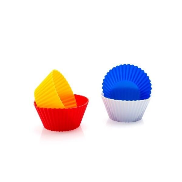 Formine colorate per cupcake (4 pezzi)