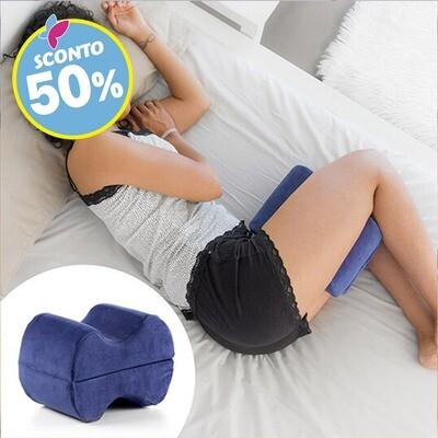 Cuscino doppio comfort gambe e schiena