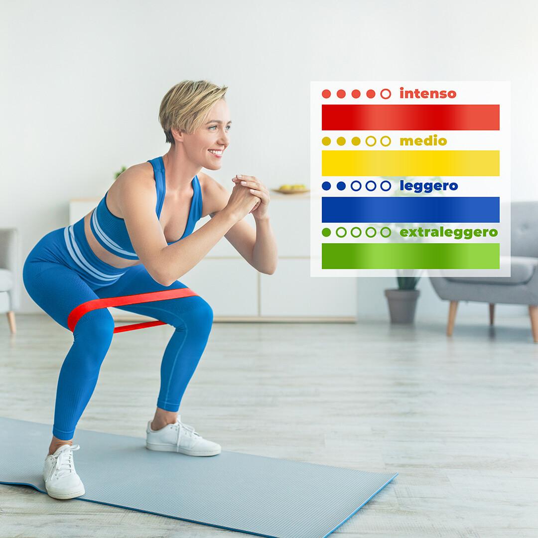Set elastici fitness Dieta Social
