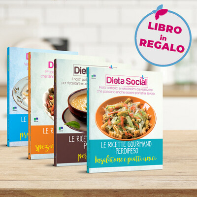 Le ricette gourmand perdipeso - 3 volumi più 1 IN REGALO