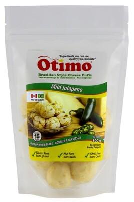 Jalapeño Brazilian Style Cheese Puffs
