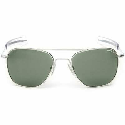 Randolph Aviator Skytec Bright Chrome Frame Sunglasses