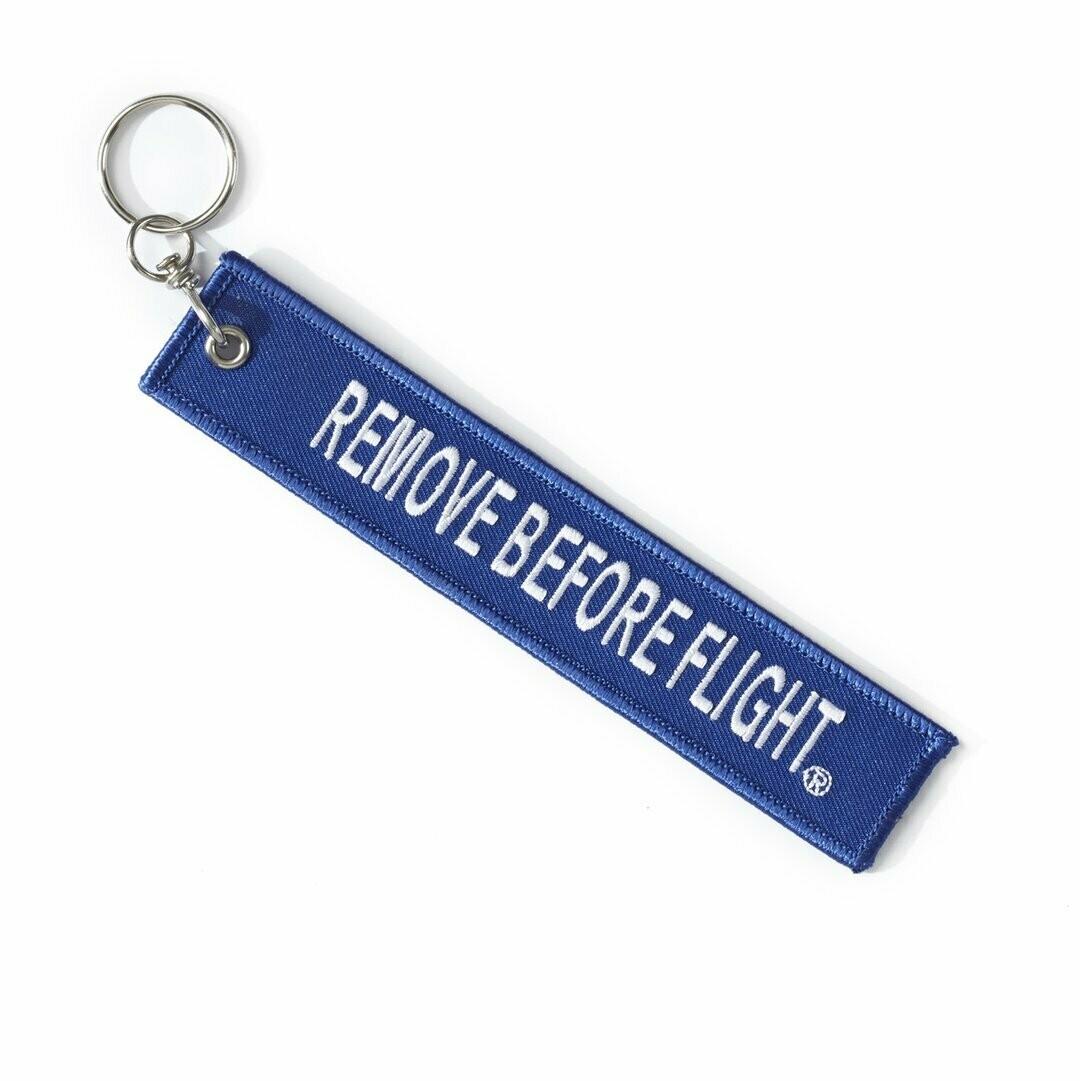 Boeing Remove Before Flight Keychain