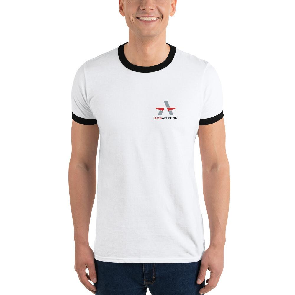 ACS Aviation Ringer T-Shirt