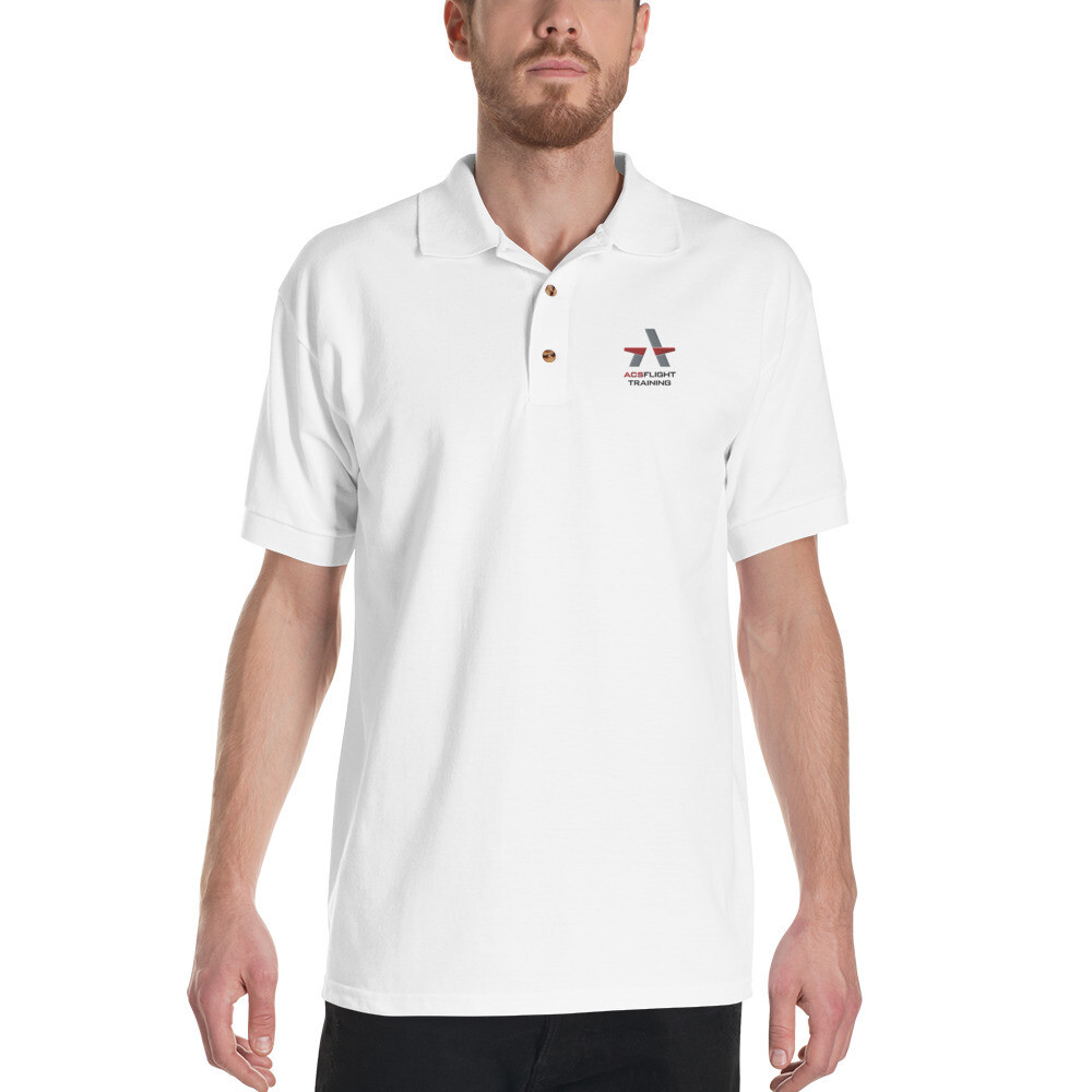 ACS Aviation Embroidered Polo Shirt