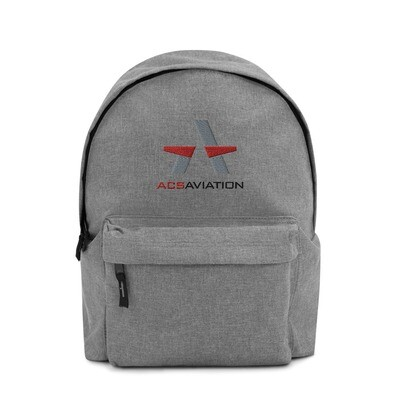 ACS Aviation Embroidered Backpack