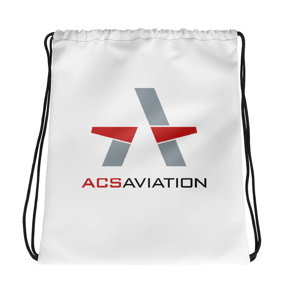 ACS Aviation Drawstring bag