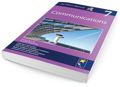 Pooleys Air Pilot's Manual Volume 7 Communications APM EASA Book