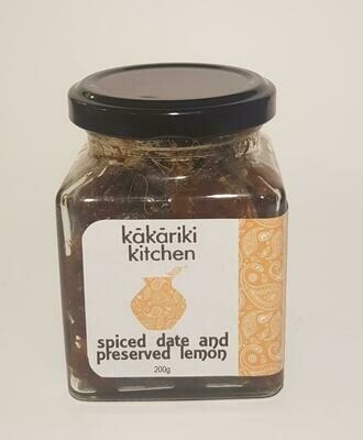 Date & Preserved Lemon Chutney 200g