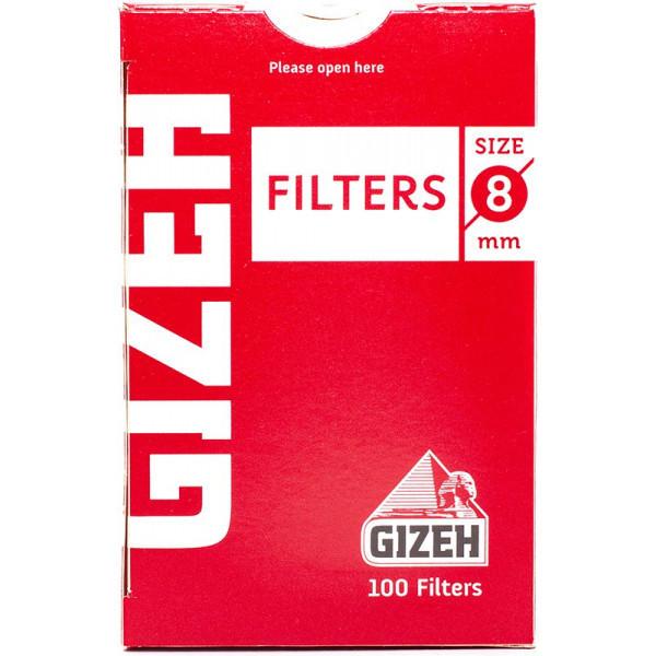 Фильтры для самокруток 8мм Gizeh Standard 100 шт