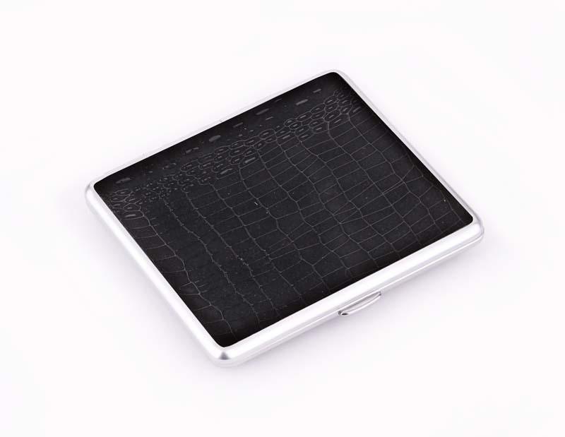 Портсигар S.Quire - S305-3411-9 - Черный со вставками