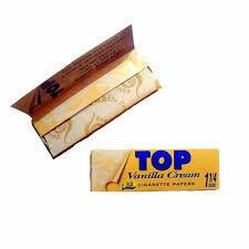Бумага самокруточная TOP 78 mm - Vanilla Cream (Ваниль)