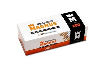 Гильзы сигаретные Magnus 200  Carbon (long filter 20 mm)