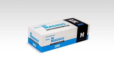 Гильзы сигаретные Magnus 200 White ( extra long filter 24 mm)