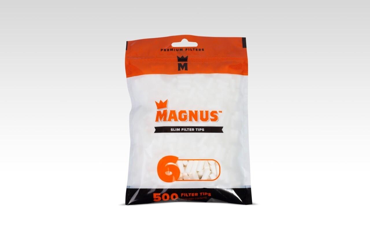 Фильтры для самокруток Magnus 500 Slim 6mm