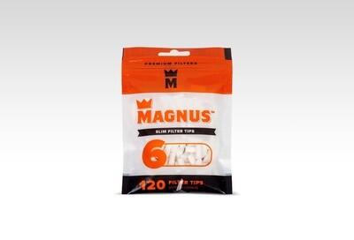 Фильтры для самокруток Magnus 120 Slim 6mm