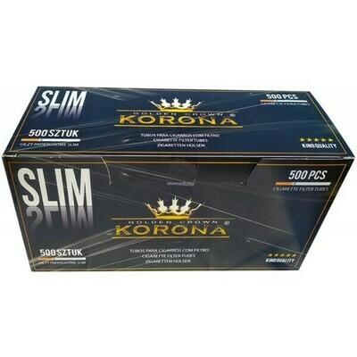 Сигаретные гильзы Korona - Slim (500 шт)