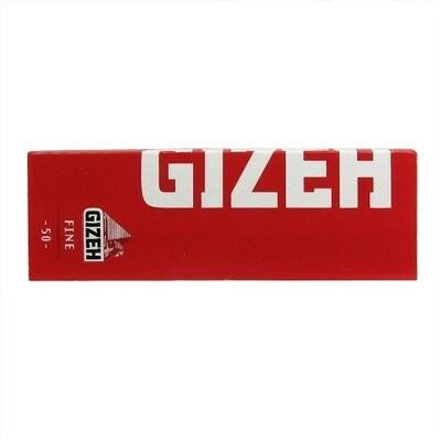 Бумага самокруточная Gizeh Fine (красная)
