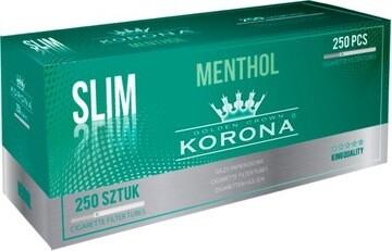 Сигаретные гильзы Korona - Slim Menthol (250 шт.)