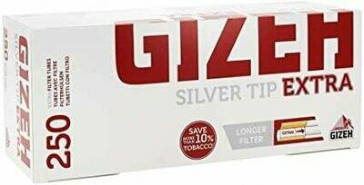 Сигаретные гильзы Gizeh Silver Tip  Extra с фильтром 250 шт