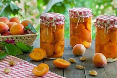 Варенье из абрикоса домашнее 450 грамм