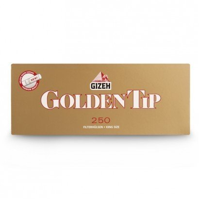 Сигаретные Гильзы Gizeh Golden Tip 250 штук