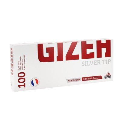 Сигаретные гильзы Gizeh silver tip с фильтром 100 шт