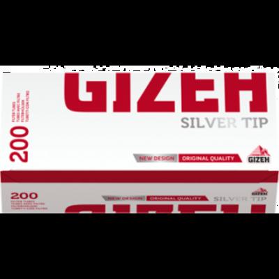 Сигаретные гильзы Gizeh Silver Tip с фильтром 200 шт